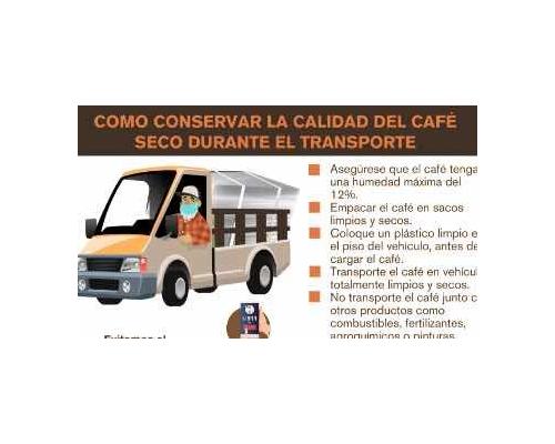 Cómo conservar calidad del café durante el transporte