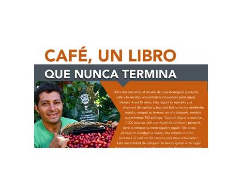 Historia de Éxito: Café, Un libro que nunca termina